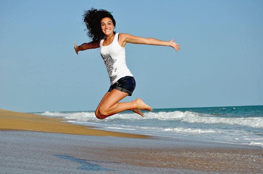 Jan Blog Post - Girl Jumping